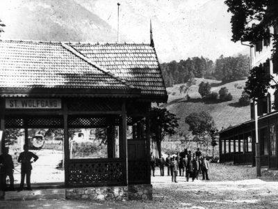 Bhf St. Wolfgang um 1900